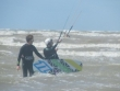 learning to kitesurf at Camber Sands 300x225
